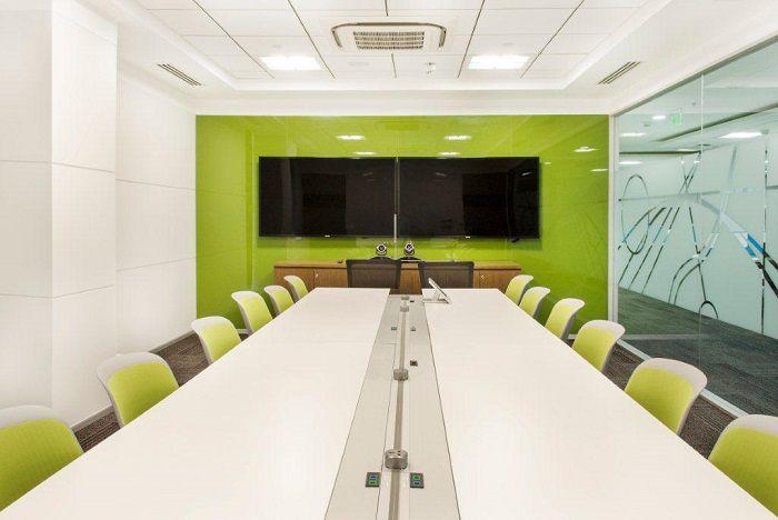 sala riunioni verde