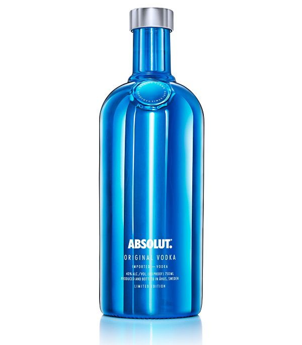Absolut Electrik Blue vodka edizione limitata