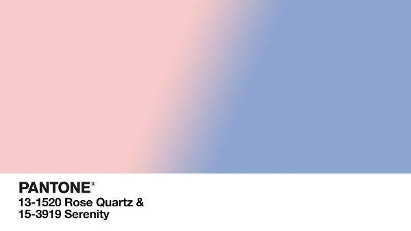 Rose Quartz Serenity colori Pantone 2016