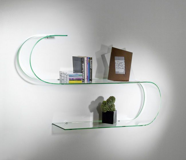 Arreda casa con le mensole di design house mag for Mensola sopra letto