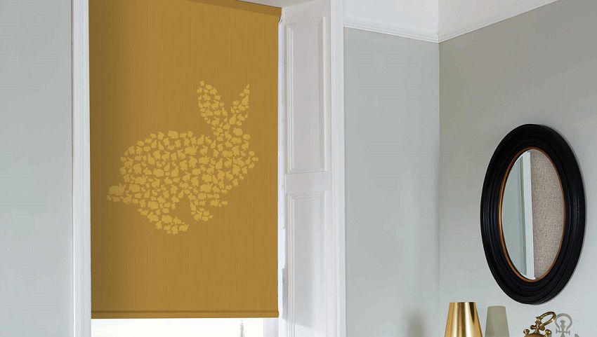 Bunny Gold Blinds