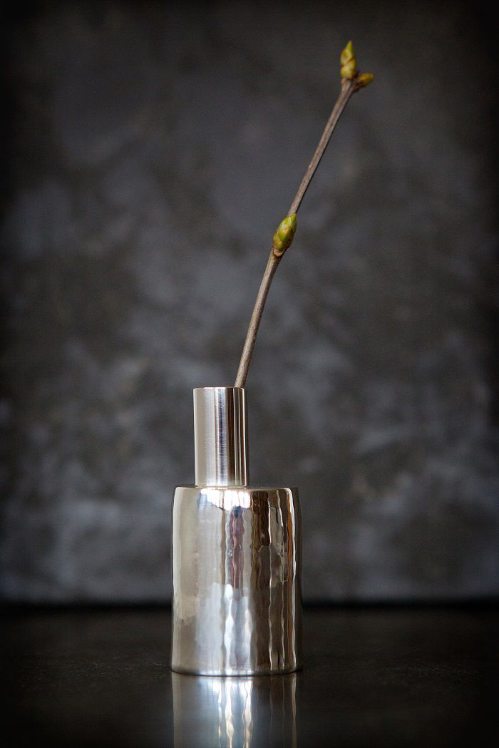 Nordic Design Collective Buddy Silver Vase