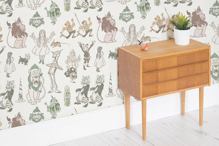 The Wizard of Oz mural wallpapers