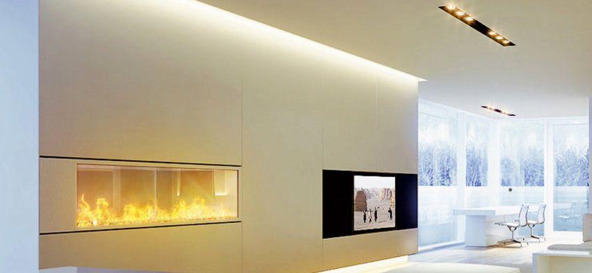 Illuminare con le strisce a LED una casa in stile moderno