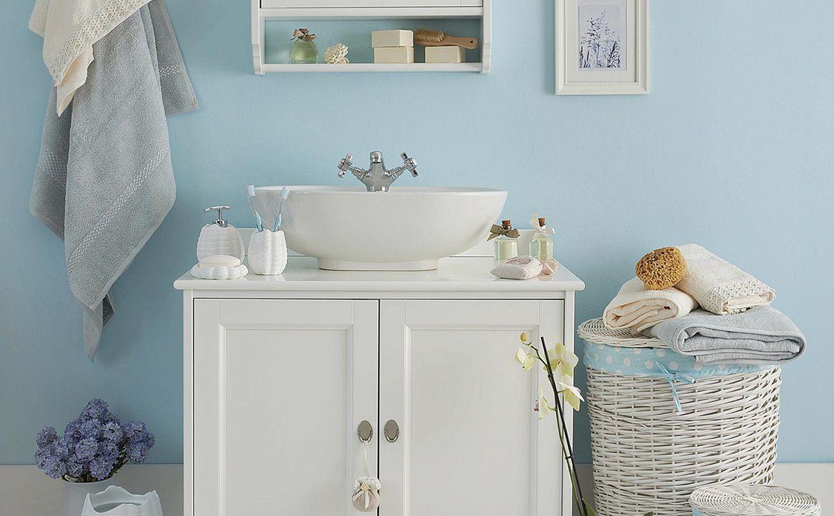 Profumo di lavanda e colori pastello arredare il bagno in for Arredo bagno in stile provenzale