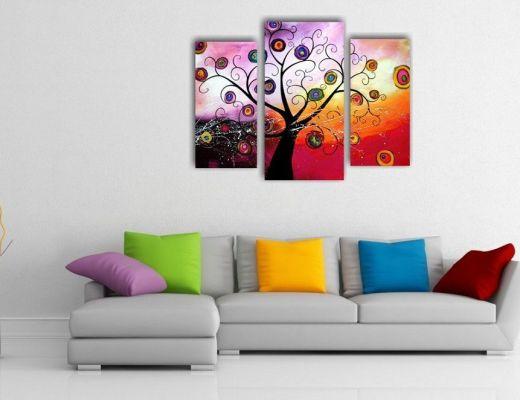 quadri moderni astratti colori caribe