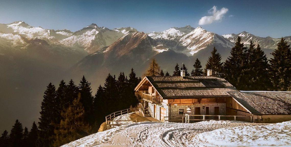 I consigli per arredare una casa in montagna in stile country o moderno - Arredamento casa in montagna ...