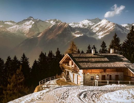casa in montagna arredamento