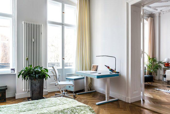 studio e camera da letto