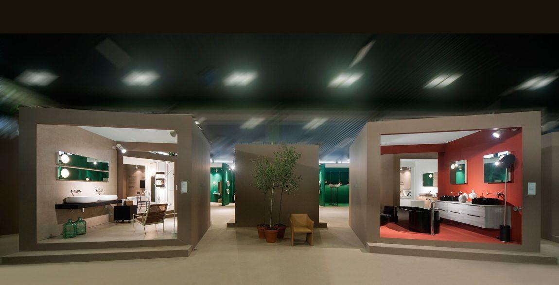Ceramica flaminia showroom milano for Showroom arredo bagno milano