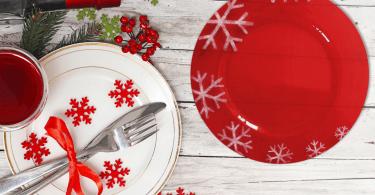 sottopiatto natalizio decorazioni casa