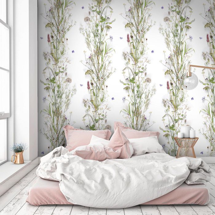 Tendenze camera da letto 2018: arreda con la carta da parati