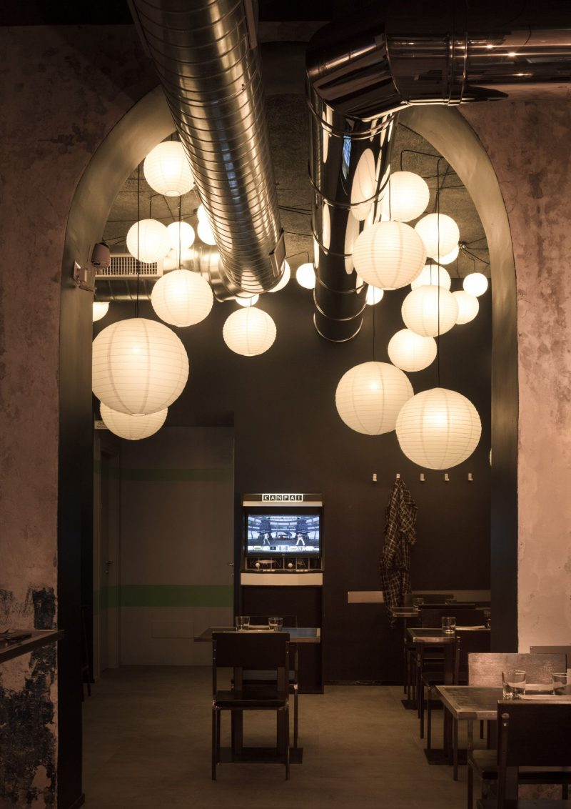 Interni design Kanpai Milano