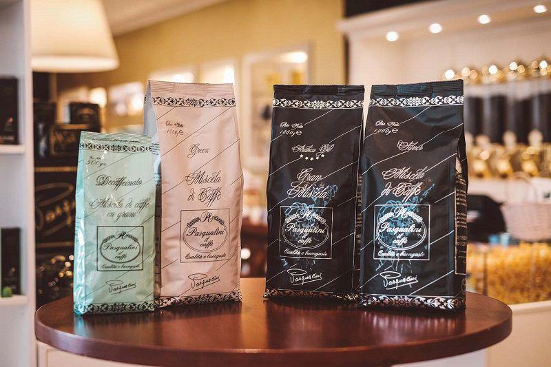 Quattro miscele di Pasqualini Il Caffè