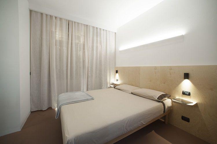 Camera da letto testata betulla