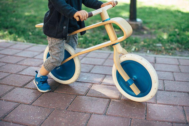 bicicletta legno bambini
