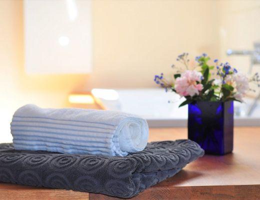 asciugamani bagno locale