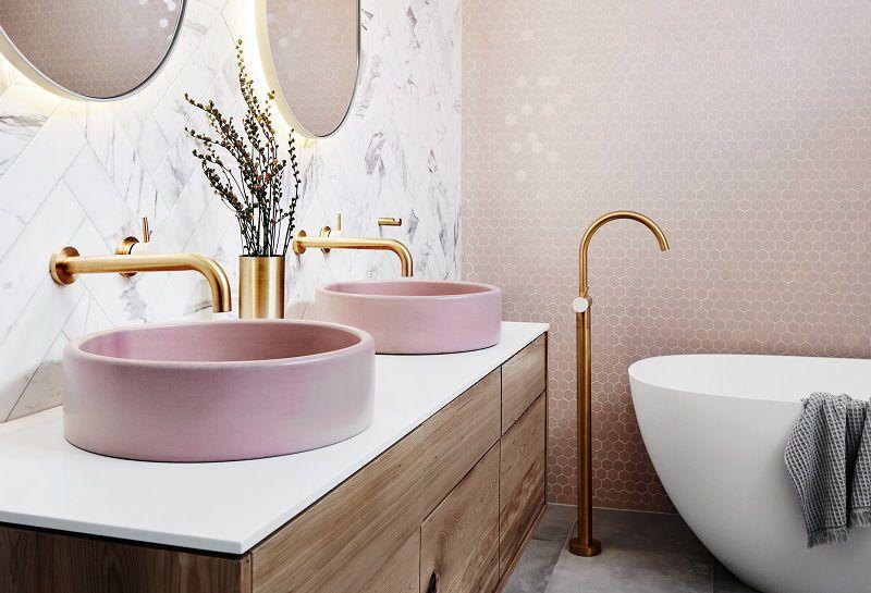 bagno in rosa
