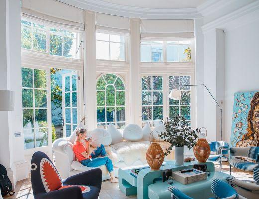 soggiorno illuminazione naturale