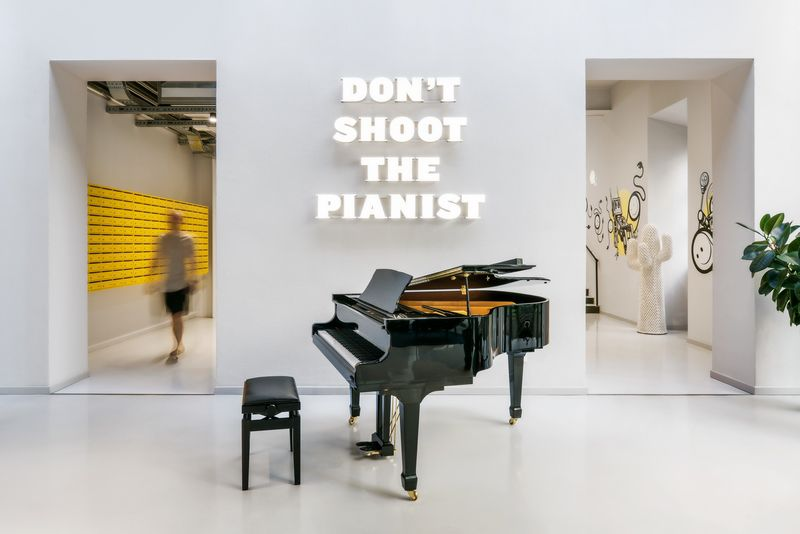 Dont shoot the pianist The Student Hotel