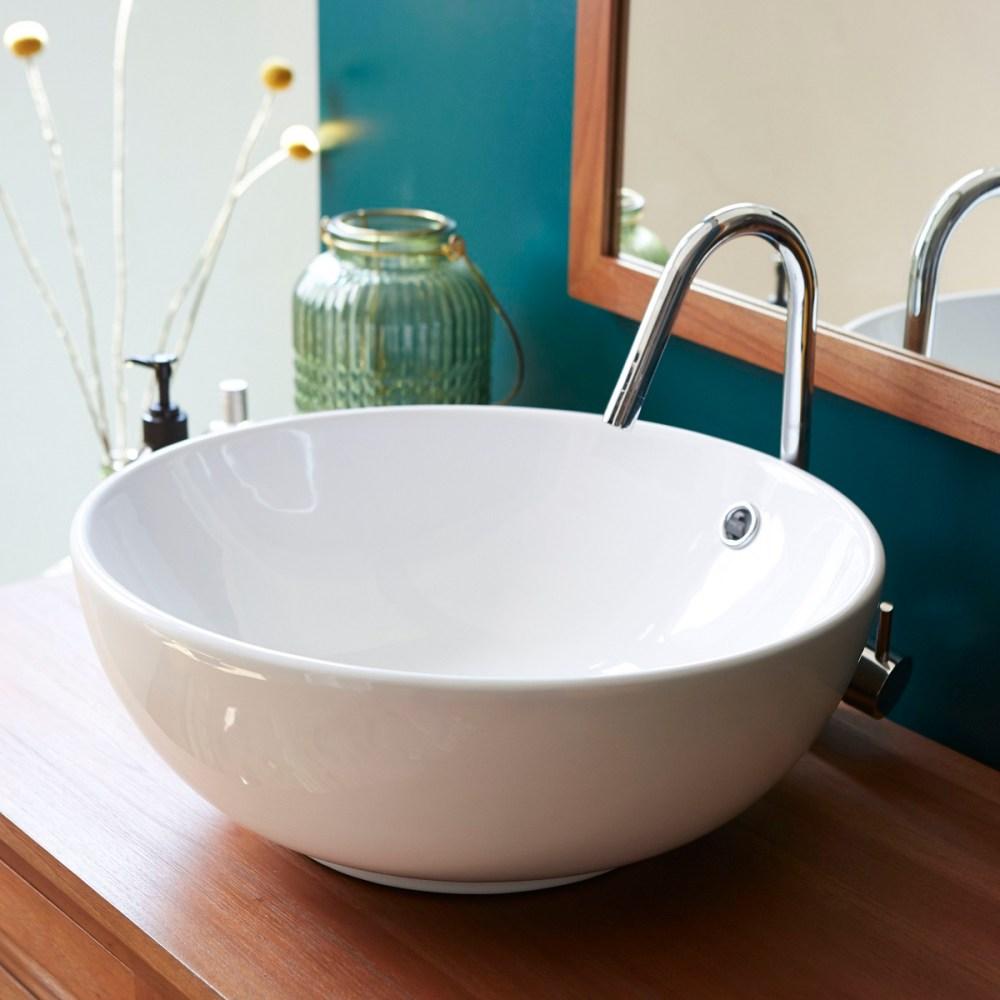 lavabo rotondo per il bagno piccolo