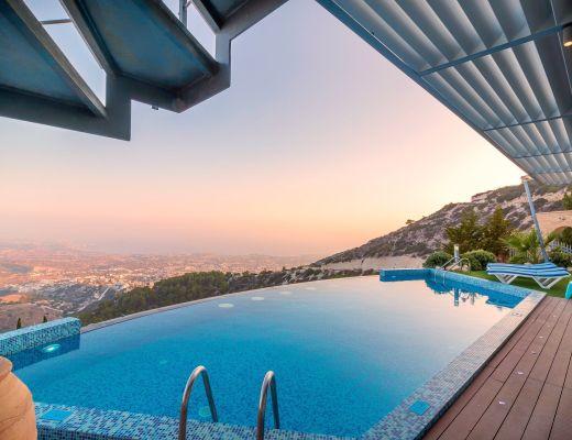 copertura piscina esterni casa