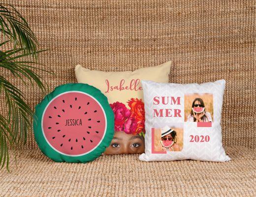 Cuscini personalizzati foto scritte