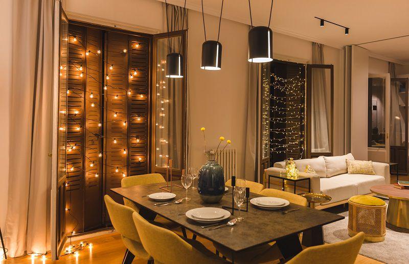 atmosfera natalizia living room