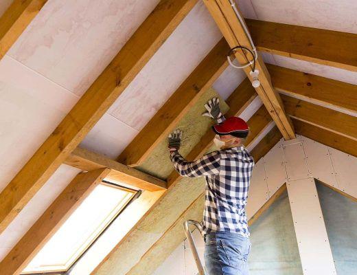 insufflaggio termico pareti sottotetto