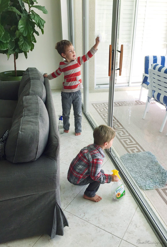 Kids Chore Chart To Earn Money House Mix