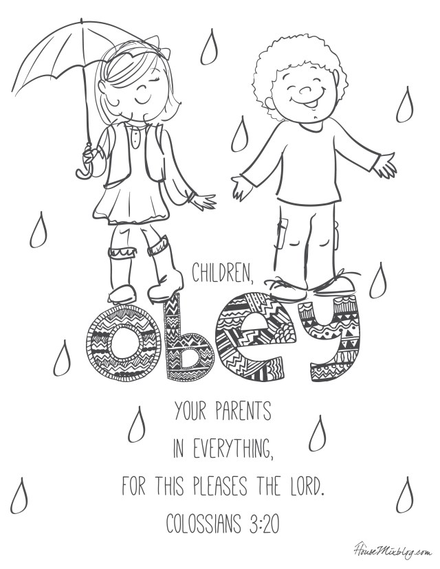 24 Bible verses to teach kids with printables – House Mix