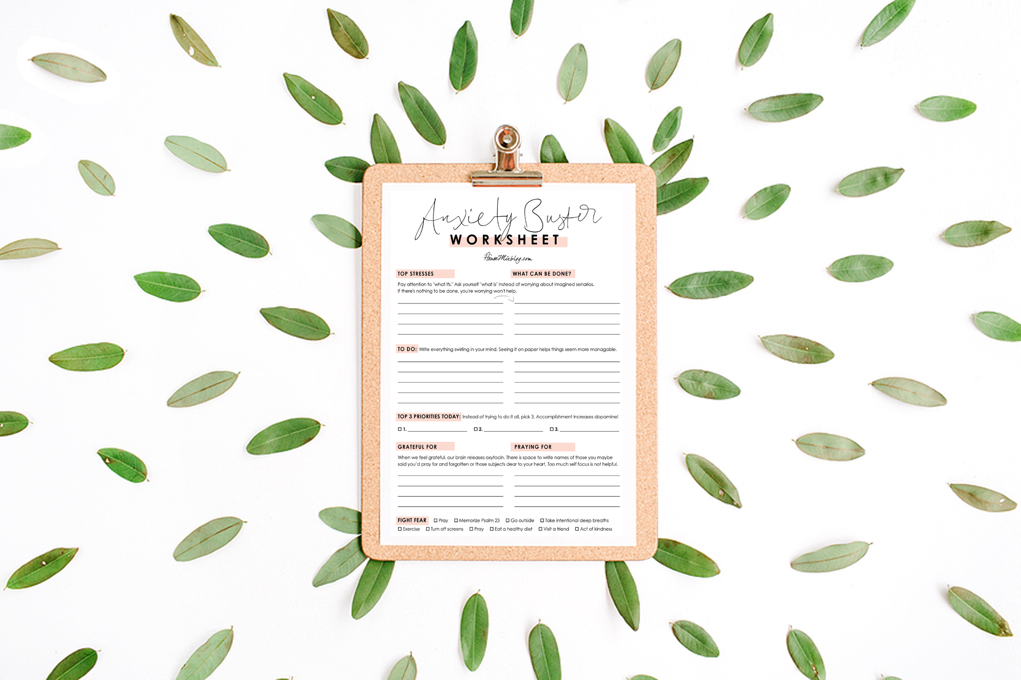Anxiety Buster Worksheet How To Get Rid Of Anxiety And