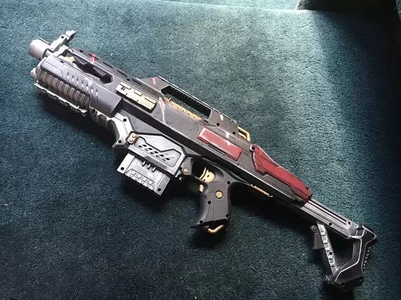 Custom Nerf Space Marine Rifle