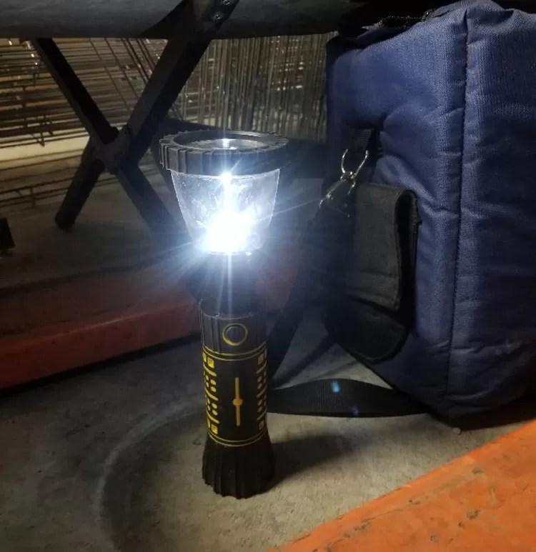 Hydralight Water Powered Lantern and Flashlight Combo