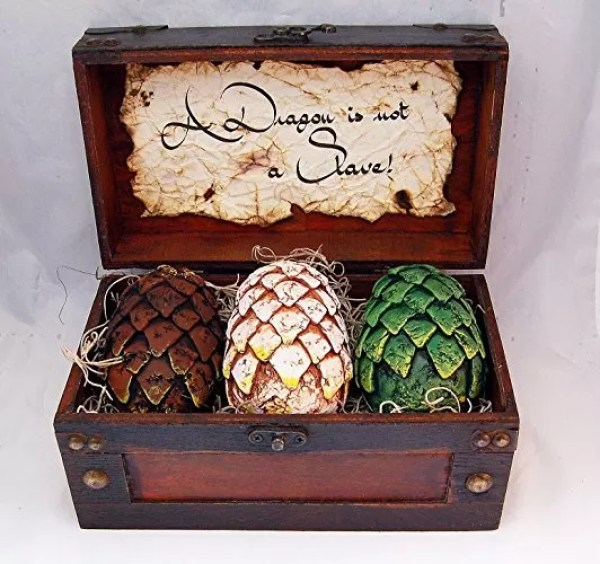 Game of Thrones Life-size Dragon Eggs