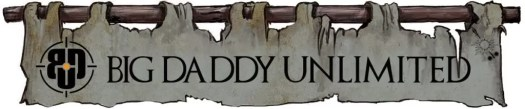 Big Daddy Unlimited - House Morningwood - Game of Thrones Banners style