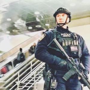 NYPD ESU Officer Seery in the PICO-ESU