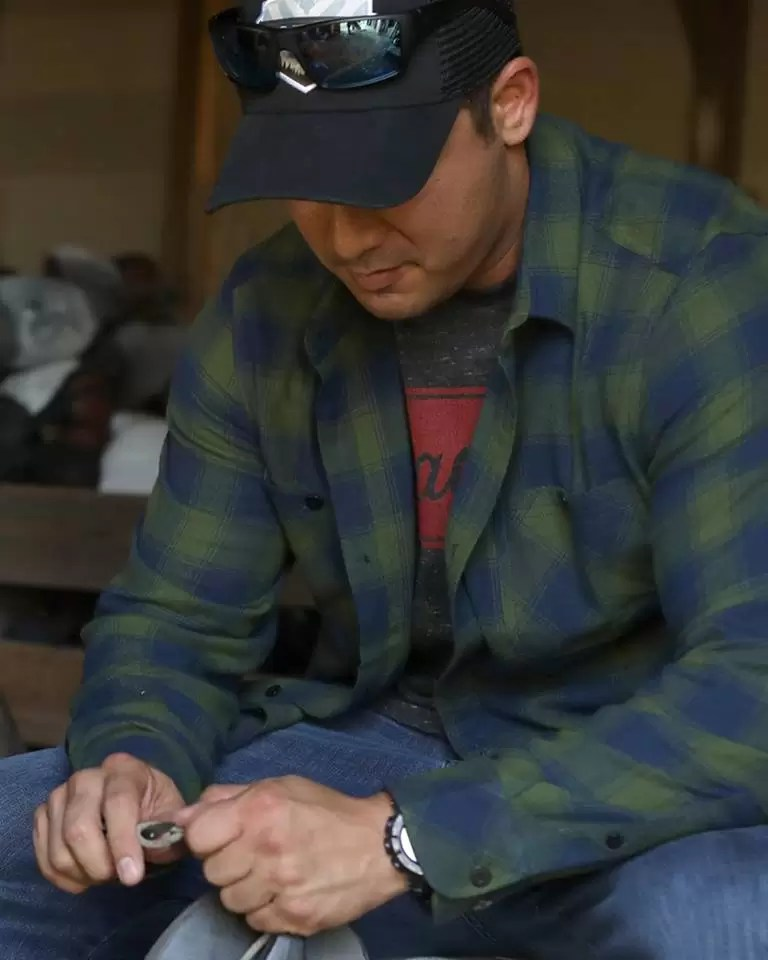 green flannel shirt from Tactical Distributors