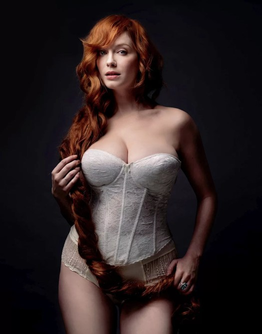 REDhead MILF Christina Hendricks: she is the ultimate gorgeous busty redhead.