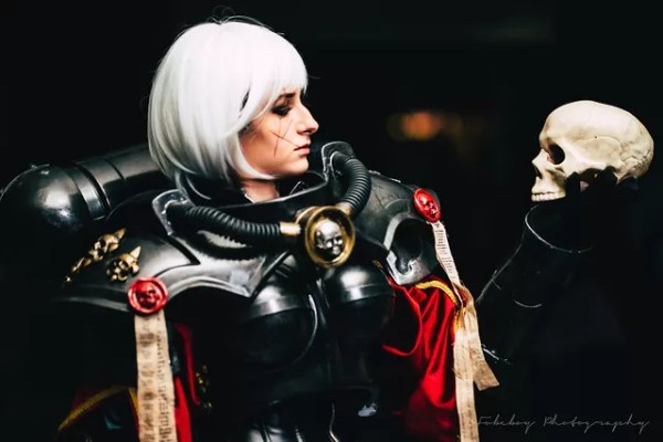Sisters of Battle Squad (Warhammer 40K cosplay)