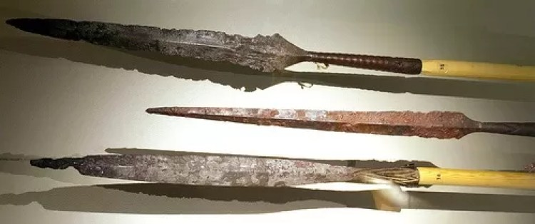 Viking Spears. Image swiped from https://www.flickr.com/photos/arnybo/