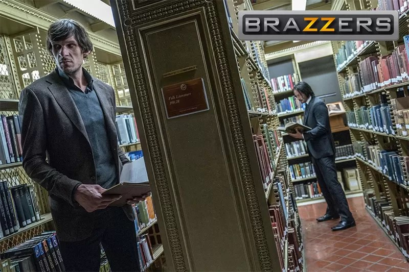 The Brazzers logo and John Wick: it changes the dynamic dynamically!