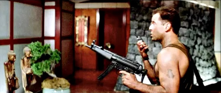 Die Hard John McClane MP5 delayed blowback firearm