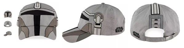 Mandalorian merchandise: a ballcap that looks like the Mandalorian's helmet