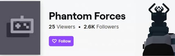 Phantom Forces on Twitch