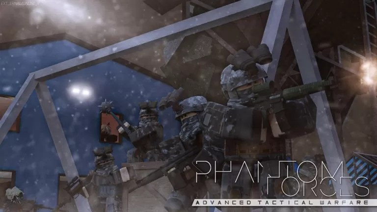 Phantom Forces - like Lego Weapons but in a game