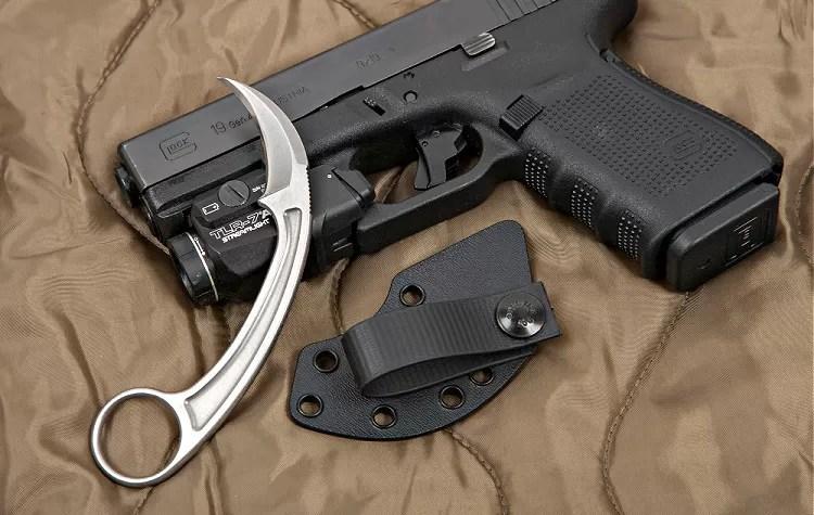Bastinelli PiKa and Glock 19