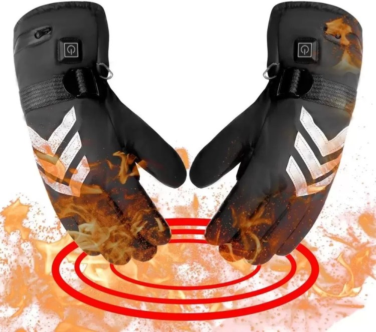 Image showing the romifly with a fire effect because they are heated gloves.