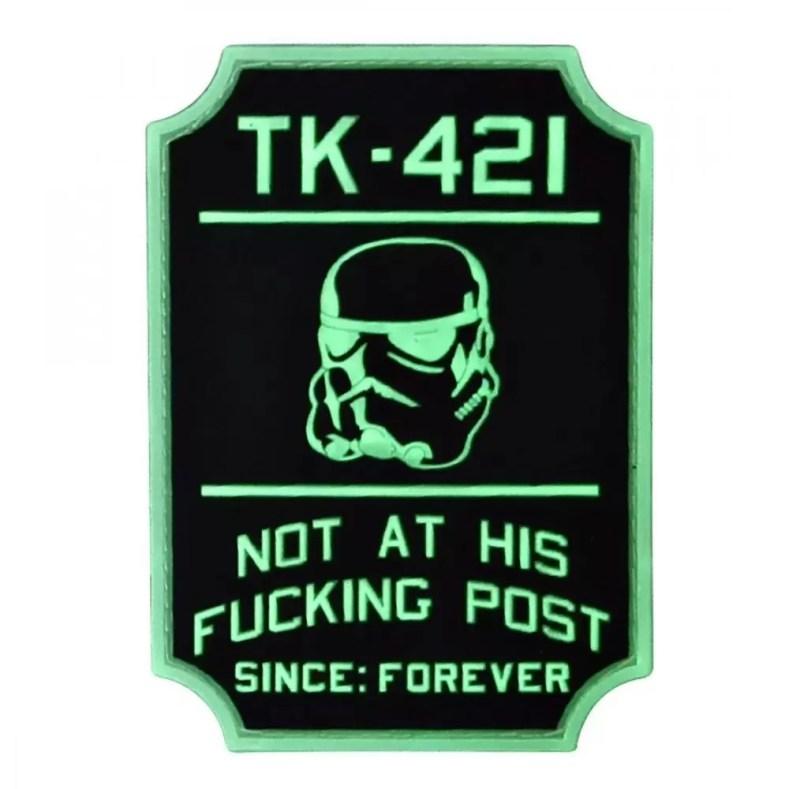Violent Little Machine Shop's TK-421 Patch