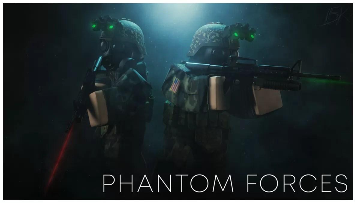 Phantom Forces 15k graphic designer